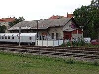 Praha-Dejvice, nákladiště, protidrogový vlak.jpg