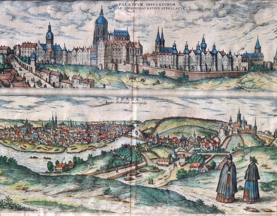 Praha Hoefnagel 1595 DSCN0730