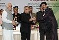 Pranab Mukherjee presenting the National Award for Teacher-2011 to Shri Balasaheb Murlidhar Chaudhari, Maharashtra, on the occasion of the 'Teachers Day'.jpg