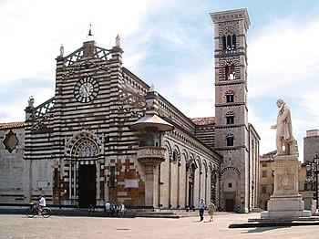 Storia di prato wikipedia for Piazza duomo prato