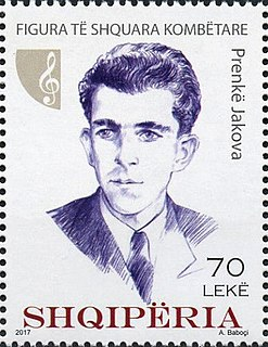 Prenkë Jakova Compose, musician and author
