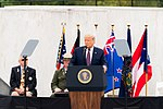 President Donald J. Trump delivers remarks at the 19th anniversary of the Flight 93 National Memorial Observance (50331444597).jpg