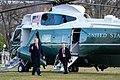 President Trump Returns from North Carolina (49516125346).jpg