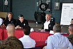 President meets leaders of storm-ravaged North Carolina at MCAS Cherry Point 180919-Z-DZ751-430 (44838233755).jpg