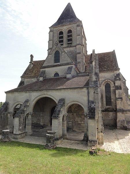 Presles-et-Boves (Aisne) église Saint-Pierre-et-Saint-Paul