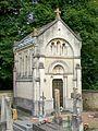Presles (95), cimetière, chapelle funéraire anonyme, rue Adalbert-Baut.jpg