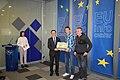 Primanje nagrade EU Info centar.jpg