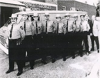 Prince George's County Sheriff's Office - Vintage PGSO van
