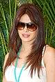Priyanka promotes 'Teri Meri Kahaani' at Cocoberry 03.jpg