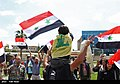 Pro-government Syrians demonstration in Damascus after US missile strike 09.jpg