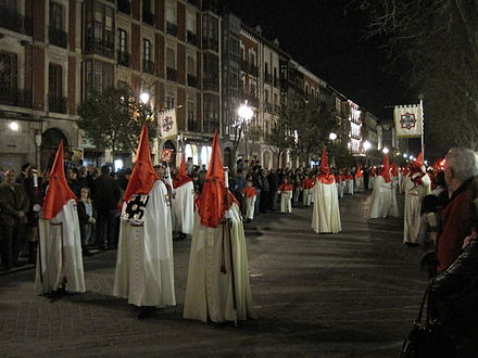 Holy Week procession in the city Procesion Cristo de los Trabajos.jpg