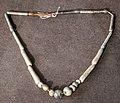 Produzione egizia, collane con vaghi in pasta vitrea, 03.jpg