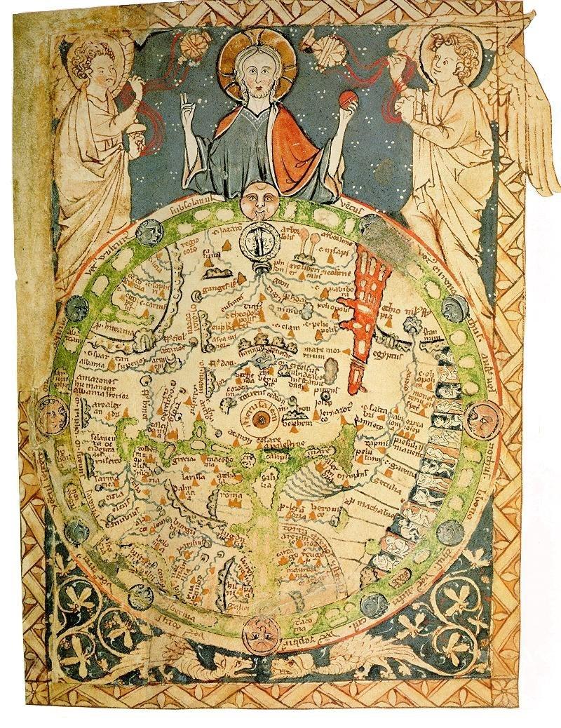 Psalter mappamundi