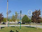 Public art at Murray North station, Murray, Utah, Aug 16.jpg