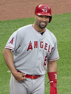 Albert Pujols Dominican-American baseball player