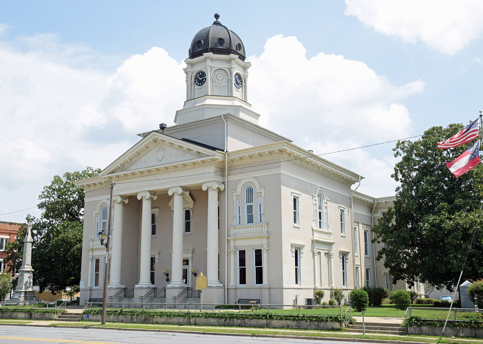 Pulaski County Courthouse, Hawkinsville, GA, US