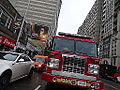 Pumper 323 at the intersection of Sherbourne and Bloor, 2014 12 17 (2) (16046865952).jpg