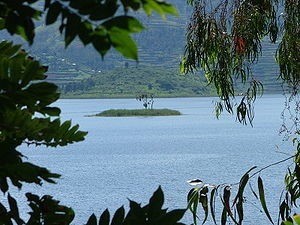 Lake Bunyonyi - Punishment Island in Lake Bunyonyi
