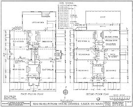 House plan on data center parts