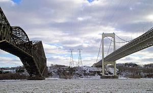 Quebec and Pierre-Laporte Bridges