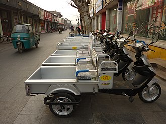 Motorized tricycle - Light motor tricycles for sale in Shandong, China
