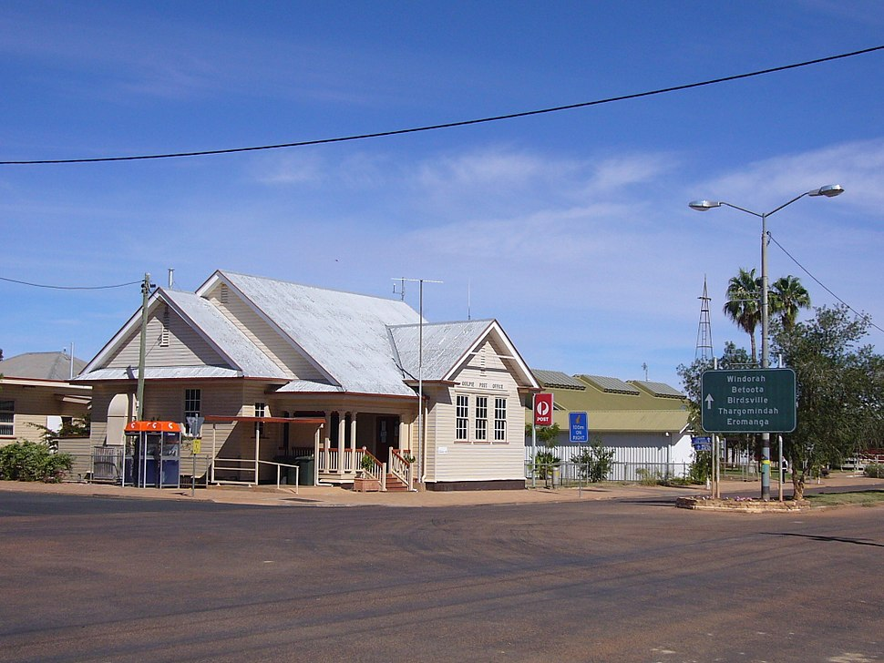 Quilpie post office2007
