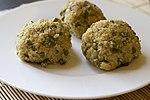 Quinoa crab fishballs (23222646225).jpg