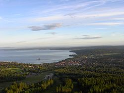 Overview of Rättvik