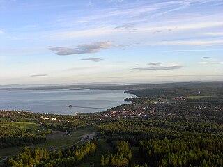 Rättvik Place in Dalarna, Sweden