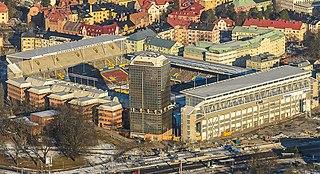Råsunda Stadium association football stadium in Solna, Sweden between 1937-2012
