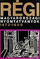 Régi magyarországi nyomtatványok I. kötet borító.jpg
