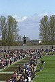 RIAN archive 807989 At Piskarevskoye Memorial Cemetery on Victory Day.jpg