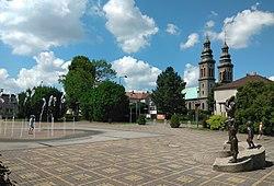 Radlin Biertułtowy, main square.jpg