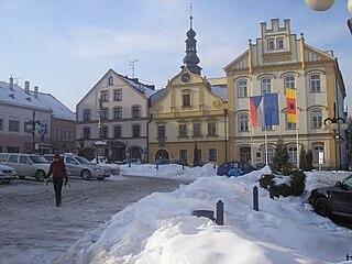 Česká Třebová Town in Pardubice, Czech Republic
