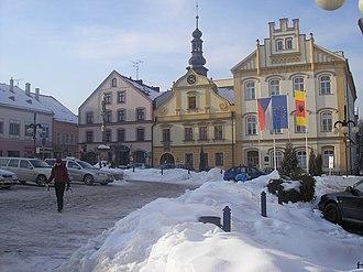 Česká Třebová - Town hall in Česká Třebová
