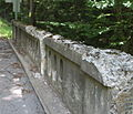 Railing of a bridge over Little Fishing Creek.JPG