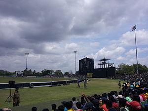 Rangiri Dambulla International Stadium - Scoreboard end