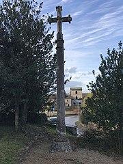 croix de l'ancien cimetière de Rans