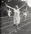 Raoul Parenteau, du Stade bordelais, champion de France des 100 et 200 mètres en 1914.jpg