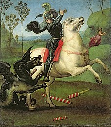 Raphael - Saint George Fighting the Dragon.jpg