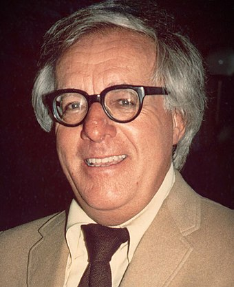 Ray Bradbury was one of the science-fiction writers who offered a premise for the Star Trek feature film. Ray Bradbury (1975) -cropped-.jpg
