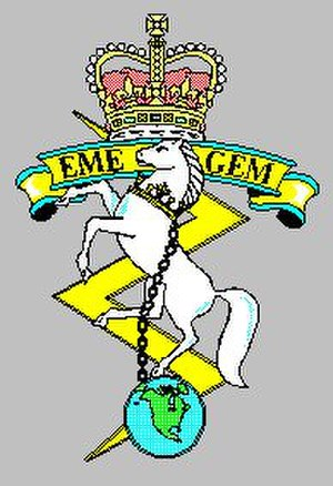 Corps of Royal Canadian Electrical and Mechanical Engineers - Rceme1995