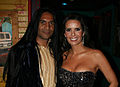 Real Housewives Miami Karent Sierra with Anand Bhat.JPG
