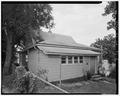 Rear from northeast - 2019 Woodland Avenue (Cottage), Des Moines, Polk County, IA HABS IOWA,77-DESMO,30-5.tif