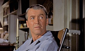 Rear Window - James Stewart as L.B. Jefferies