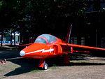 Red Arrows Folland Gnat at RAF Scampton.jpg