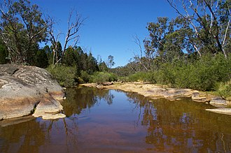 Chiltern-Mt Pilot National Park - Reedy Creek at Gladstone Track