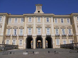 Palace of Portici - Royal Palace of Portici façade
