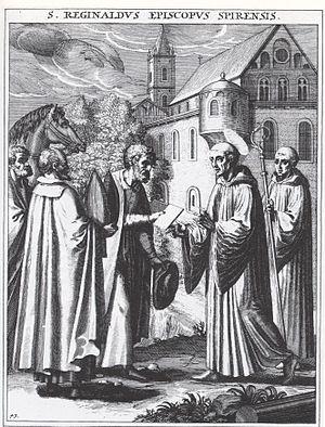 Regimbald - Regimbald, represented in 1615.