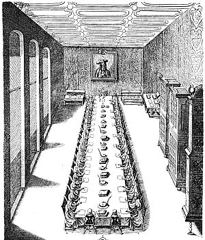 Aulic Council - Meeting of the Aulic Council, c. 1700